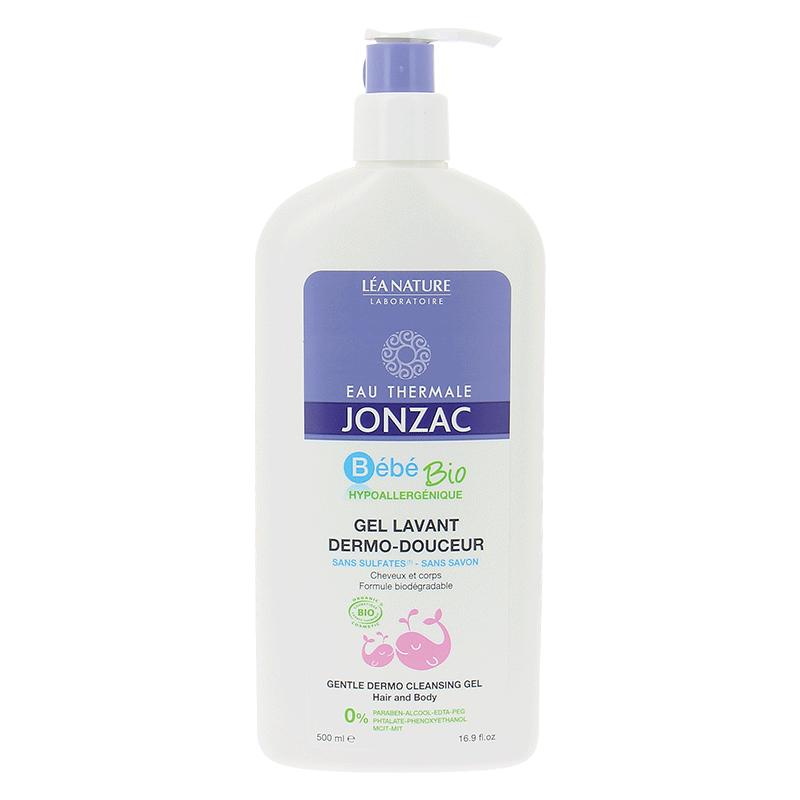 Gel tắm gội dạng gel dịu nhẹ – Gentle dermo cleansing gel – Hair and body 500ML - 692