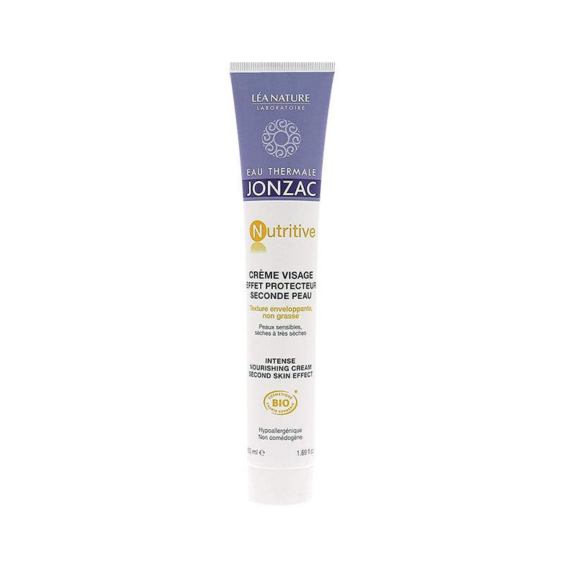 Kem dưỡng bảo vệ dành cho da khô và rất khô – Intense nourishing cream second skin effect 50ml - 898