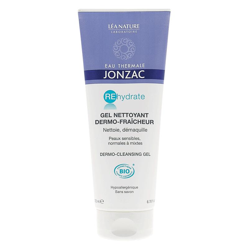 Gel rửa mặt cấp nước Eau Thermale Jonzac – Dermo-cleansing gel 200ml - 881